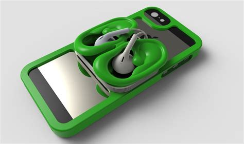 3d iphone cases iphone 5 ears 3d model stl cgtrader