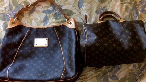 galliera pm louis vuitton purse handbag authentic review youtube