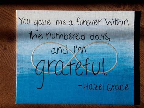 Fault In Our Stars Quotes Hazel Grace