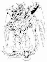 Gundam Lineart Epyon Coloring Oz 13ms Scale Wiki Gunpla Master Wikia Again Bar Looking Case Don sketch template