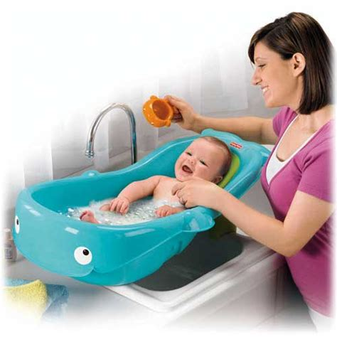 Baby Tub With Shower by Instecho Precious Planet Whale Of A Tub