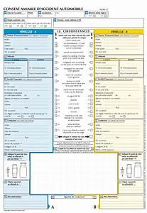 Imprimer Constat Amiable : constat amiable toutes les infos conna tre mon auto ~ Gottalentnigeria.com Avis de Voitures