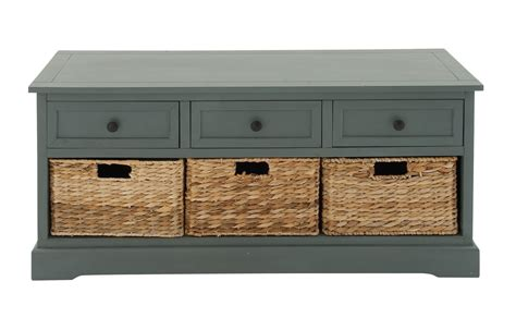 Chelsea Two Drawer Storage Bench