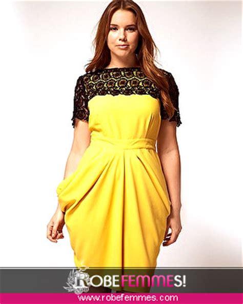 robe mariã e femme ronde idée modele robe pour femme ronde
