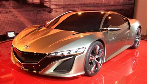 Honda Nsx Concept Is Acura Nsx Concept With Less Beak