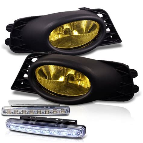 Honda Civic Oem Style Yellow Fog Lights Lamp