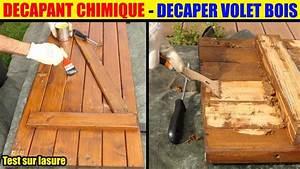 Decaper Volet Bois Lasure : d caper volet en bois d capant chimique decapex lasure peinture vernis retirer wood stripper ~ Nature-et-papiers.com Idées de Décoration