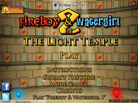 fireboy and watergirl light temple fireboy and watergirl 2 the light temple cheats