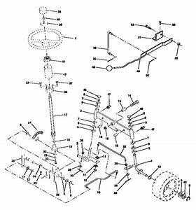 Steering Assembly Diagram  U0026 Parts List For Model 917252610