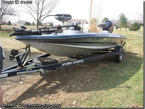 Used Hydra Sport Bass Boats For Sale by 1996 Hydra Sports Bass Boat Used Boats For Sale By Owners