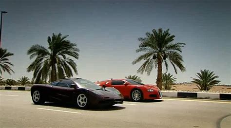 Bugatti Veyron Vs Mclaren F1 [ Video ]