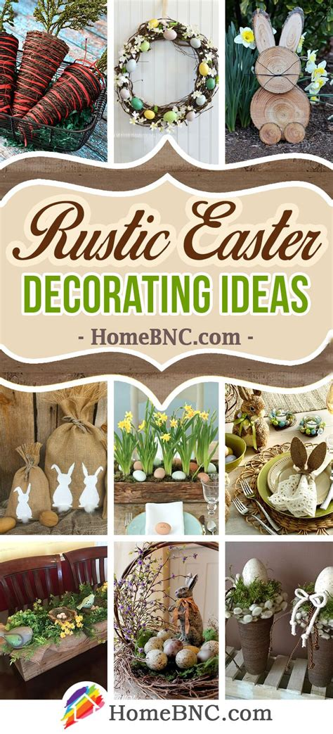Decorating Ideas For Easter by Rustic Easter Decoration Ideas Easter Crafts In 2019