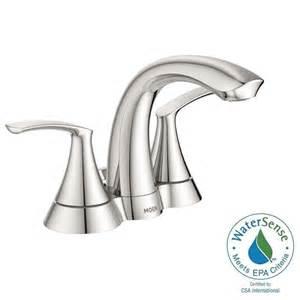 moen darcy 4 in centerset 2 handle bathroom faucet in