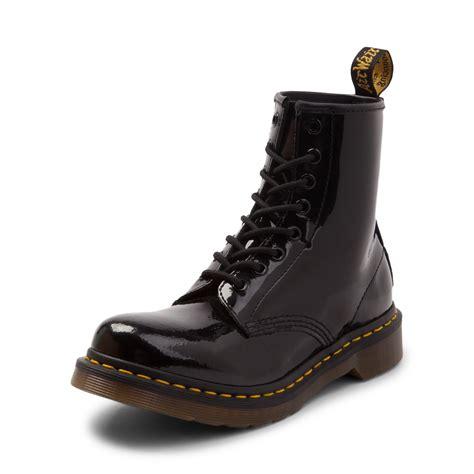 dr martens modern classics 1460 patent 8 eye boots womens dr martens 1460 8 eye patent boot black 569500