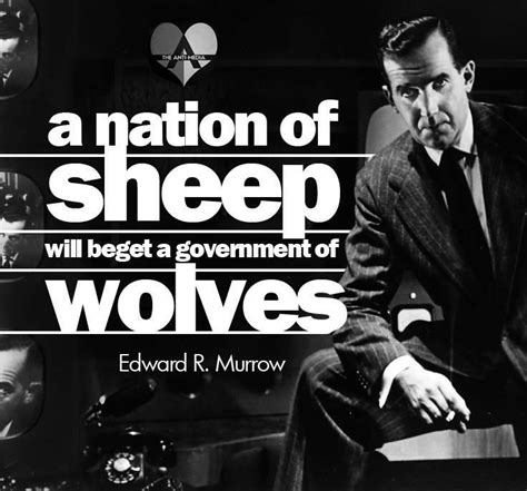 edward  murrow quotes quotesgram