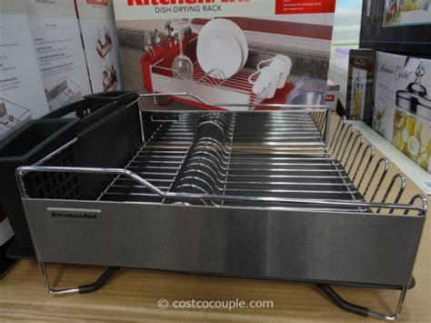 kitchenaid stainless steel dish drying rack