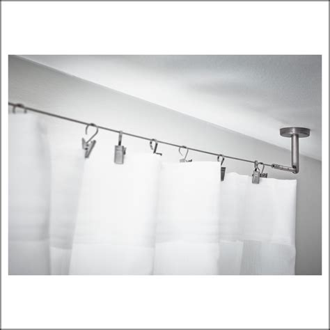 ikea wire curtain rod ikea wire curtain rod curtains home decorating ideas