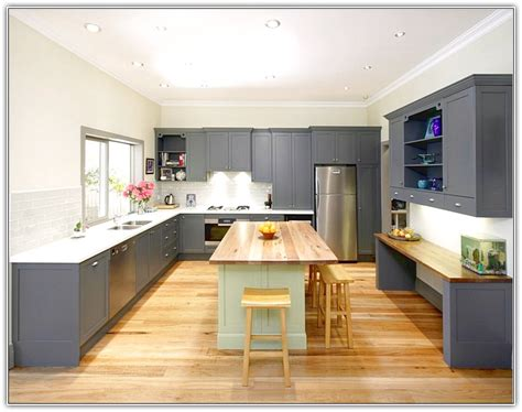 gray kitchen cabinets with hardwood floors light grey wood floor kitchen nisartmacka