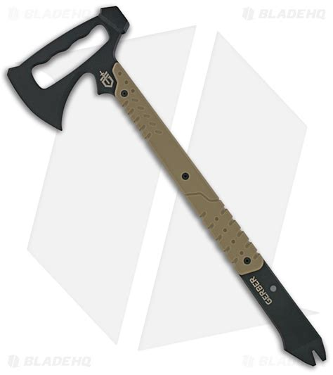 gerber tactical downrange tomahawk breaching axe hammer