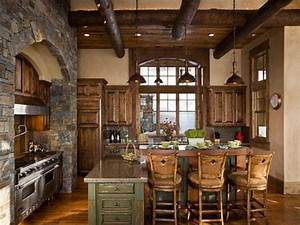 All Wood Rustic Kitchen Cabinets : Home Interior Design