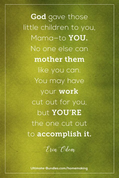 quotes about young mother