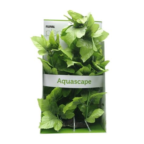 fluval plants queue de l 233 zard plante artificielle pour aquarium