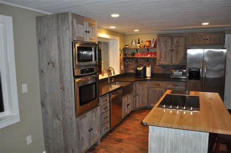 grey wood kitchen cabinets weathered gray barn wood kitchen barn wood furniture 4100