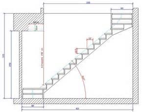 Taille Tremie Pour Escalier Droit by Sur 233 L 233 Vation Calcul Escalier 2 Quarts Tournant