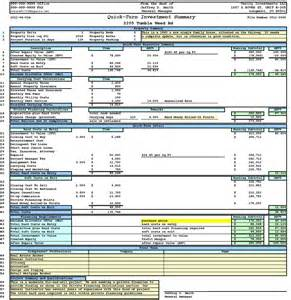 Escrow Analysis Spreadsheet by Property Analysis Worksheet Form Bargains