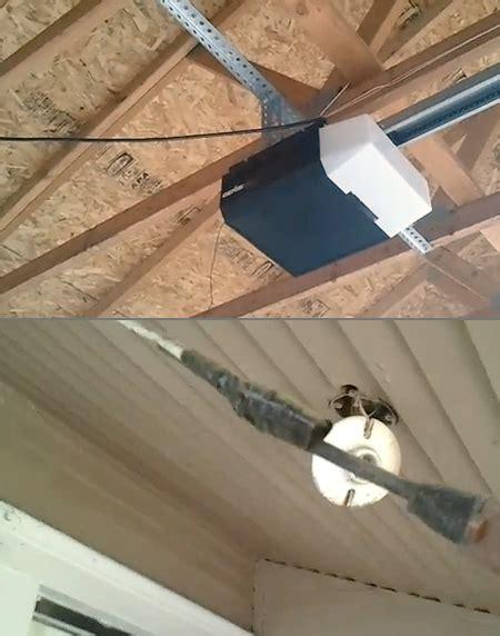 Garage Door Opener Power Surge by Why You Shouldn T Wire Garage Door Openers With Spliced