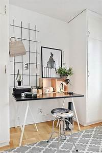 amenagement d39un petit espace de travail le bureau style With idee deco bureau travail