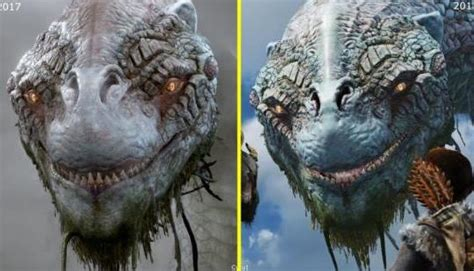 god  war      trailer early graphics comparison ng