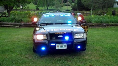 Crown Vic Police Interceptor Lights And Siren