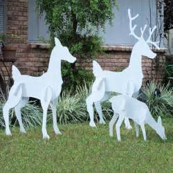 reindeer decorations yard