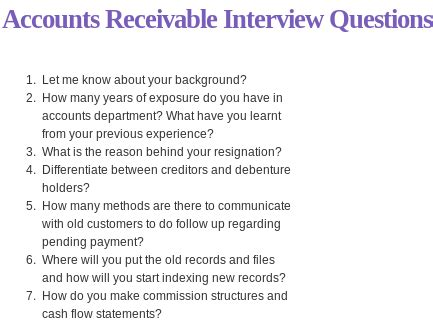Accounts Payable Questions And Answers For by Account Payable Question And Answer How To Leave