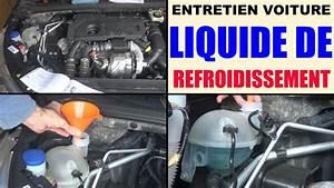 Mettre Du Liquide De Refroidissement : liquide de refroidissement voiture faire le niveau entretien voiture prix conseils youtube ~ Medecine-chirurgie-esthetiques.com Avis de Voitures