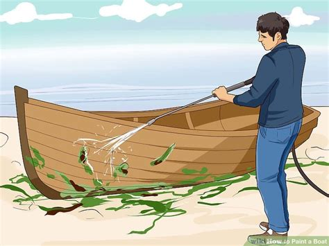 Boat Yacht Paint by How To Paint A Boat 11 Steps With Pictures Wikihow
