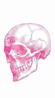 Lot de 2 tirages Chanel skull 24x36 digital par ...