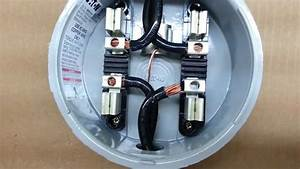 Hialeah Meter Co  Wiring Diagram For Single Phase  Fm 2s