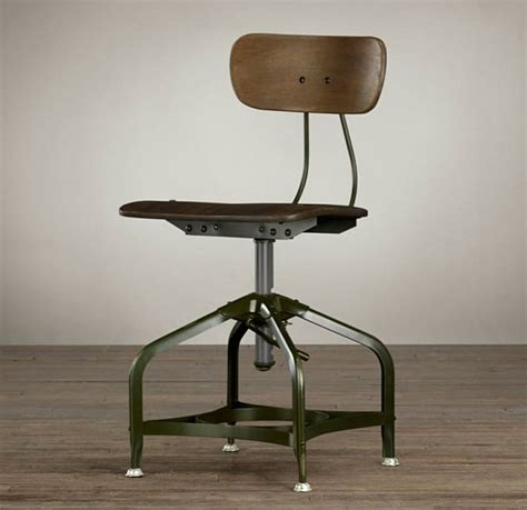 interior fancy industrial dining chair made from metal