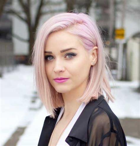 12 Pale Pink Short Hairstyles Crazyforus