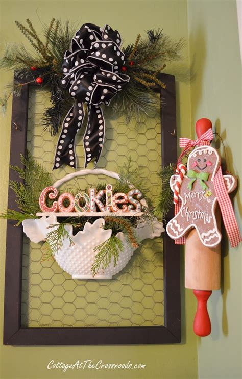gingerbread kitchen accessories gingerbread kitchen wreath cottage at the crossroads 1216