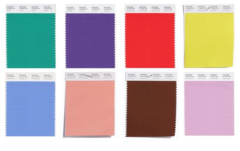 pantone 2017 color of the pantone swatches colors 2018 alessandra faria