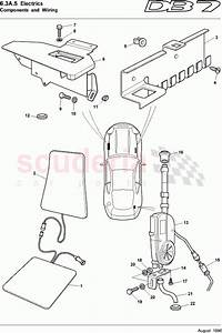 Aston Martin Db7  1995  Components And Wiring 5 Parts