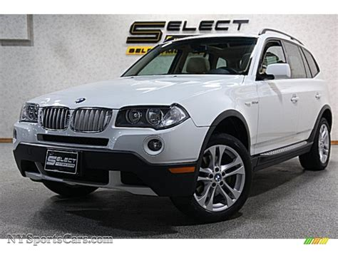 si鑒e auto sport black 2008 bmw x3 3 0si in alpine white j15933 nysportscars com cars for sale in york
