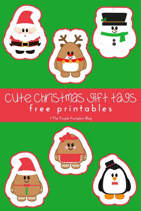 Cute Wedding Decorations by Cute Christmas Gift Tags Free Printables 187 The Purple