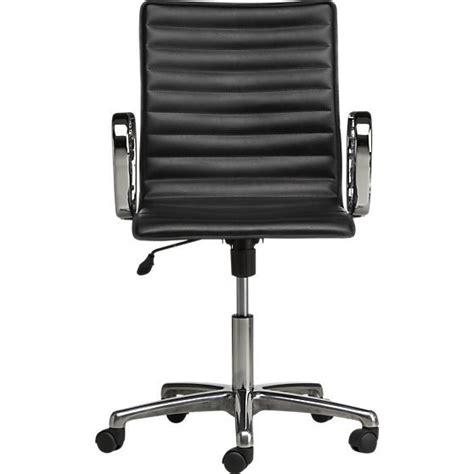 Crate And Barrel Ripple Office Chair by Best 20 Leather Office Chairs Ideas On
