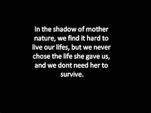 Hurts - Mother Nature Lyrics