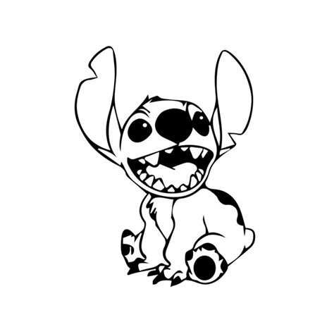 You can download free vector in.ai and.eps format. Library of lilo and stitch black and white banner ...