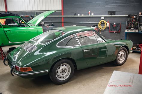 irish green porsche 912 rally build and restoration completed